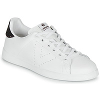 kengät Naiset Matalavartiset tennarit Victoria TENIS PIEL White / Bordeaux
