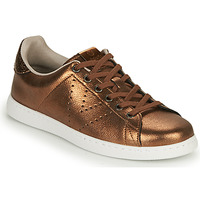 kengät Naiset Matalavartiset tennarit Victoria TENIS METALIZADO Bronze
