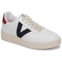 kengät Matalavartiset tennarit Victoria SIEMPRE PIEL VEG White / Blue / Red