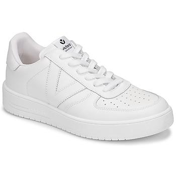 kengät Naiset Matalavartiset tennarit Victoria SIEMPRE PIEL White
