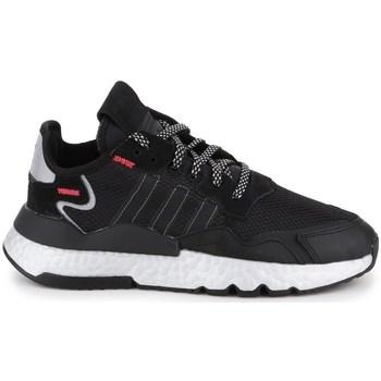 kengät Naiset Fitness / Training adidas Originals Nite Jogger Mustat