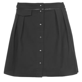 vaatteet Naiset Hame Naf Naf ELORA Black