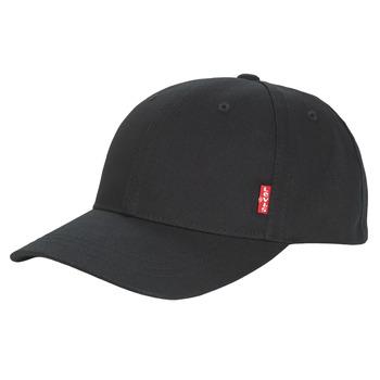 Asusteet / tarvikkeet Miehet Lippalakit Levi's CLASSIC TWILL REDL CAP Black
