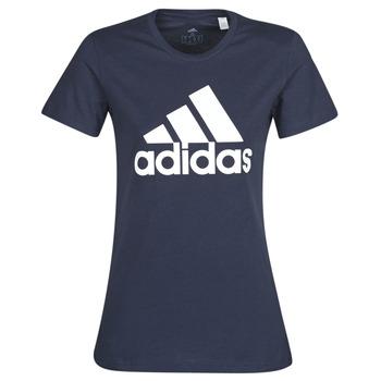 vaatteet Naiset Lyhythihainen t-paita adidas Performance W BOS CO TEE Sininen