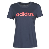 vaatteet Naiset Lyhythihainen t-paita adidas Performance W E LIN SLIM T Encre