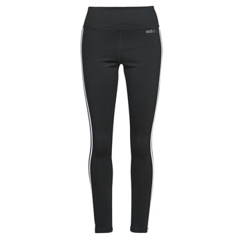 vaatteet Naiset Legginsit adidas Performance W D2M 3S HR LT Musta