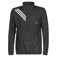 vaatteet Miehet Svetari adidas Performance OWN THE RUN JKT Musta