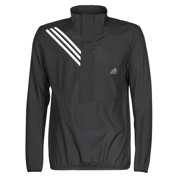 vaatteet Miehet Svetari adidas Performance OWN THE RUN JKT Black