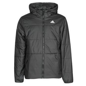vaatteet Miehet Toppatakki adidas Performance BSC HOOD INS J Musta
