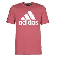 vaatteet Miehet Lyhythihainen t-paita adidas Performance MH BOS Tee Red / Heritage