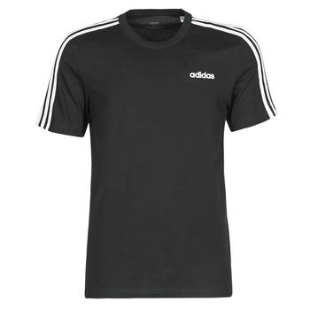 vaatteet Miehet Lyhythihainen t-paita adidas Performance E 3S TEE Black