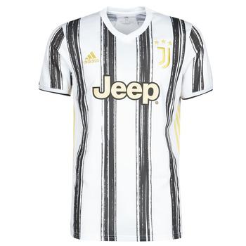 vaatteet Lyhythihainen t-paita adidas Performance JUVE H JSY Valkoinen / Musta