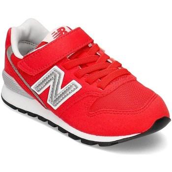 kengät Lapset Matalavartiset tennarit New Balance 996 Valkoiset, Punainen
