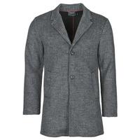 vaatteet Miehet Paksu takki Petrol Industries JACKET WOOL Grey