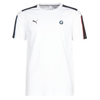 vaatteet Miehet Lyhythihainen t-paita Puma BMW MMS MS T7 TEE White