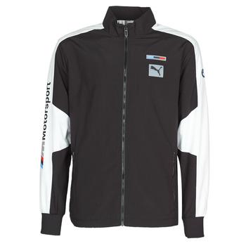 vaatteet Miehet Ulkoilutakki Puma BMW MMS WVN JACKET F Black / Grey / White
