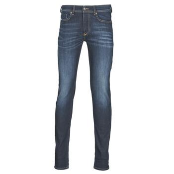 vaatteet Miehet Skinny-farkut Diesel SLEENKER Blue / 009ey