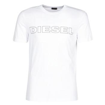 vaatteet Miehet Lyhythihainen t-paita Diesel JAKE Valkoinen