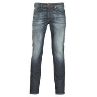 vaatteet Miehet Slim-farkut Diesel THOMMER Blue