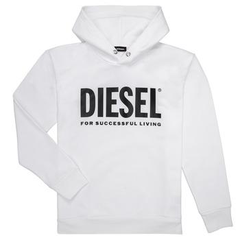 vaatteet Pojat Svetari Diesel SDIVISION LOGO Valkoinen