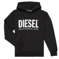 vaatteet Pojat Svetari Diesel SDIVISION LOGO Black