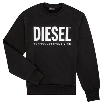 vaatteet Pojat Svetari Diesel SCREWDIVISION LOGO Black