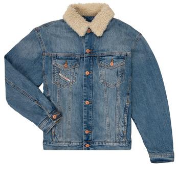 vaatteet Pojat Farkkutakki Diesel JRESKY Blue