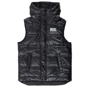 vaatteet Pojat Toppatakki Diesel JSUNNY Black