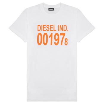 vaatteet Lapset Lyhythihainen t-paita Diesel TDIEGO1978 Valkoinen