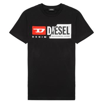 vaatteet Lapset Lyhythihainen t-paita Diesel TDIEGOCUTY Black