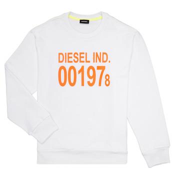 vaatteet Lapset Svetari Diesel SGIRKJ3 White