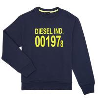 vaatteet Lapset Svetari Diesel SGIRKJ3 Blue