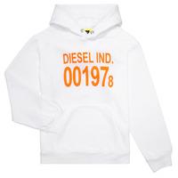 vaatteet Lapset Svetari Diesel SGIRKHOOD White