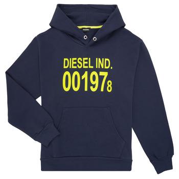 vaatteet Lapset Svetari Diesel SGIRKHOOD Sininen