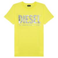vaatteet Tytöt Lyhythihainen t-paita Diesel TSILYWX Yellow