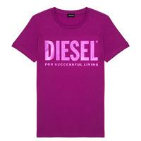vaatteet Tytöt Lyhythihainen t-paita Diesel TSILYWX Pink