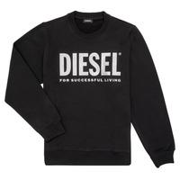 vaatteet Tytöt Svetari Diesel SANGWX Musta
