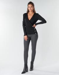 vaatteet Naiset 5-taskuiset housut Freeman T.Porter TESSA COLISH Grey
