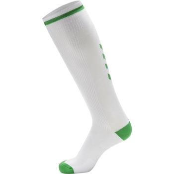 Asusteet / tarvikkeet Urheilusukat Hummel Chaussettes  Elite Indoor High blanc/rose