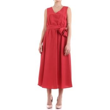 vaatteet Naiset Pitkä mekko Fly Girl 9890-02 Rosso