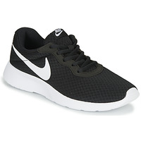 kengät Naiset Matalavartiset tennarit Nike TANJUN Musta / Valkoinen