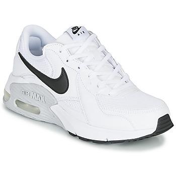 kengät Naiset Matalavartiset tennarit Nike AIR MAX EXCEE Valkoinen / Musta