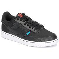 kengät Naiset Matalavartiset tennarit Nike COURT VISION LOW PREM Black