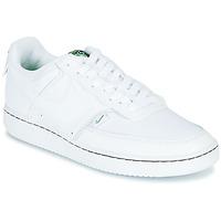 kengät Naiset Matalavartiset tennarit Nike COURT VISION LOW PREM White