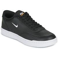 kengät Naiset Matalavartiset tennarit Nike COURT VINTAGE Musta / Valkoinen