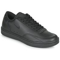 kengät Naiset Matalavartiset tennarit Nike COURT VINTAGE Musta