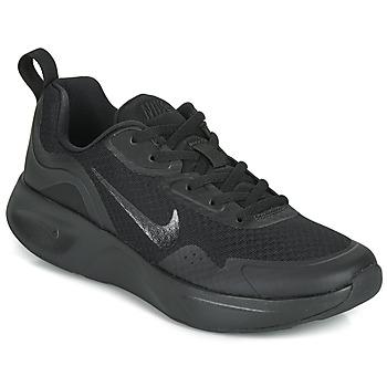 kengät Naiset Urheilukengät Nike WEARALLDAY Musta