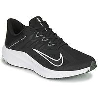 kengät Miehet Juoksukengät / Trail-kengät Nike QUEST 3 Black / White