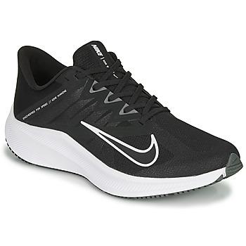 kengät Miehet Juoksukengät / Trail-kengät Nike QUEST 3 Musta / Valkoinen