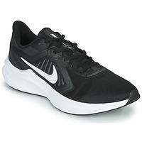 kengät Miehet Juoksukengät / Trail-kengät Nike DOWNSHIFTER 10 Black / White